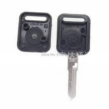 50pcs/lot Replacement Transponder Key Case Blank Cover Car Key Shell For VW Jetta With Logo