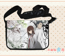 Anime Steins Gate Cosplay Okabe Rintarou Cos Anime Shoulder Bag Messenger Bag Male Female Student Campus Gift(China)