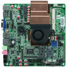 I7 3537U processor All in one motherboars ultrathin industrial embedded motherboard with 8*usb 6*com(China)