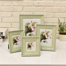 Customize photo Picture Frames, Wood Photo Frame,4/5/6/7/10 inch,Family Wedding Photo Holder,porta retrato,Desktop Decoration(China)