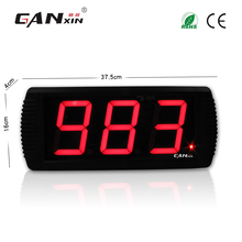 [GANXIN]4 inch 3 digit multi-color red / yellow / blue / green led digital day counter(China)