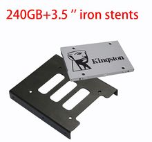 Kingston 240G UV400 SSD SATA III Internal Solid State Drive 120G 480G HDD Hard Disk HD SSD with 2.5 transform 3.5 inch Stents