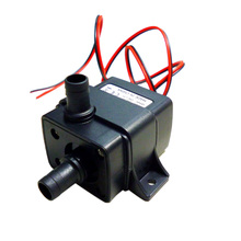 DC12V 4.2W Mini Brushless Submersible Water Pump Fountain Flowerpot Fish Tank Aquarium Pumps Low Consumption(China)
