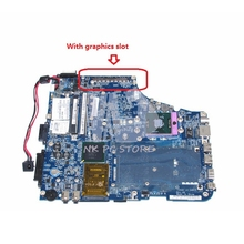 ISKAA LA-3481P K000057510 Main Board For Toshiba Satellite A200 A205 Laptop Motherboard 965PM with graphics slot DDR2 Free CPU