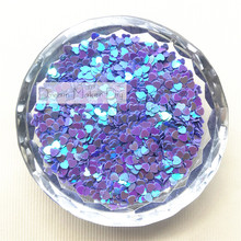 100g(15000pcs) 3mm Lovely Heart Shape PVC loose Sequins Paillettes for Nail Art manicure/sewing/wedding decoration confetti(China)