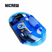 Nicrew Aquarium Gravel Cleaner Siphon Syphon Cleaning Tool Tools Semi-automatic Filter Aquarium Vacuum Cleaner for Aquario(China)