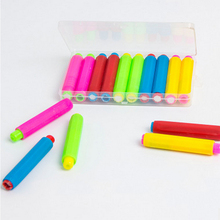 10PCS 5 Color Mixed Chalk Holders For Teachers Writing Extender Children Drawing Board Accessories School Teaching Aids(China)