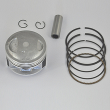 High Performance Motorcycle Piston Kit Rings Set For SUZUKI DR200 +25 Bore Size 66.25mm NEW(China)