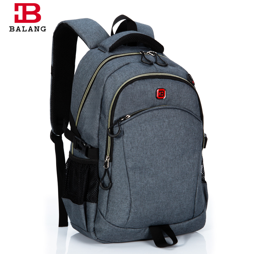 BALANG Brand  Lightweight Students Backpack for Teenagers Boys Girls Laptop Backpack inch 15.6 Waterproof Travel Bags<br>
