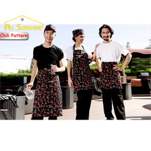 Funny Cooking Kitchen Aprons Restaurant Hotel Cooking Chili Long/ Half/ Short Aprons Bib Chef Waiter Kitchen Bib Delantal Cocin