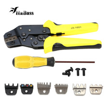 Multitool 4 In 1 Wire Crimper Tools Kit Engineering Ratchet Terminal Crimping Plier Wire Crimper + Screwdiver +end Terminals