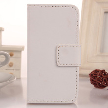 ABCTen Simple Design PU Leather Mobile Phone Case Protection Accessory Cover For Micromax Blot Q326 4.5''