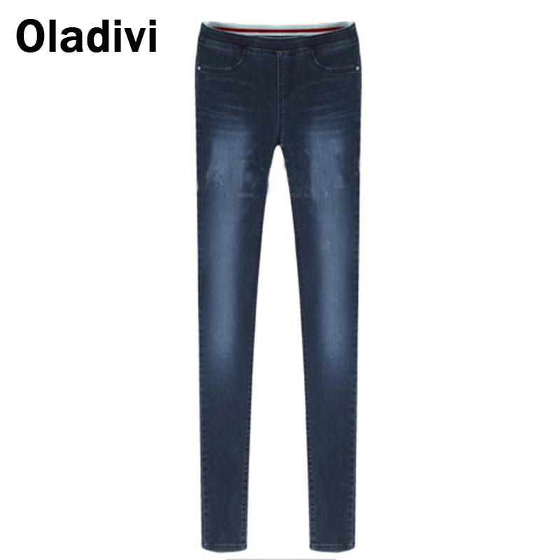 2017 New Fashion Jeans Women Pencil Pants Female Sexy Slim Elastic Skinny Pant Trousers Fit Lady Jeans Plus Size 5XL 4XL 3XL XXLОдежда и ак�е��уары<br><br><br>Aliexpress
