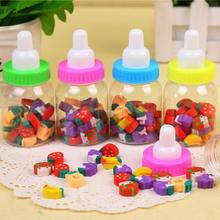 2017 Rushed Special Offer Gomas De Borrar Papeleria 1pcs/lot Mini Bottle Fruit Eraser Lovely Students Stationery Toy Rubber
