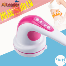 28W Charming Pink Massage And Relaxation Full Body Health Slimming Massager Far Infrared Heating Handheld Massage Hammer