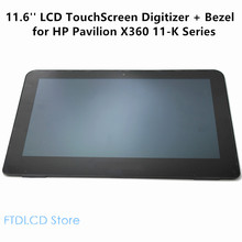 LCDOLED 11.6'' LCD Touch Screen Digitizer+Bezel Laptop Assembly For HP Pavilion X360 11-K101NA K103NA K013CL K108TU K109TU(China)