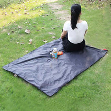 Waterproof Beach Mat Outdoor Blanket Portable Picnic Mat Camping Baby Climb Ground Mat Mattress 110cm*150cm(China)