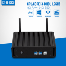Mini pc I3 4010U 8g RAM 64g SSD+WIFI Desktop Mini Pc Cheap Mini Desktop Pc Thin Client Wifi Support Touch Screen