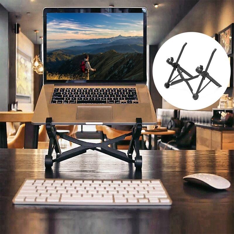 Новый ноутбук Тетрадь Desktop Портативный складной Авто держатели для ноутбука регулируемый ноутбук Тетрадь складной игровой ноутбук подстав...(China)