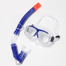 H463 Free shipp International brands Professional goggles Wet breathing tube Snorkeling two treasure equipment Snorkeling Combo