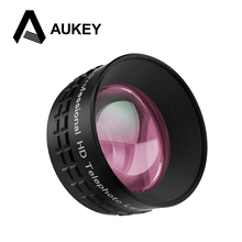 AUKEY Optic Pro Lens 2X HD Telephoto Cell Phone Camera Lens kit 2X AS Close No Distortion No Dark Circle for HTC iPhone 7 & more(China)