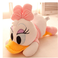 1 pc 25cm 35cm Daisy Duck& Donald Duck soft plush toys for kids and your lover Christmas Gift Home decor Stuffed Animal Doll
