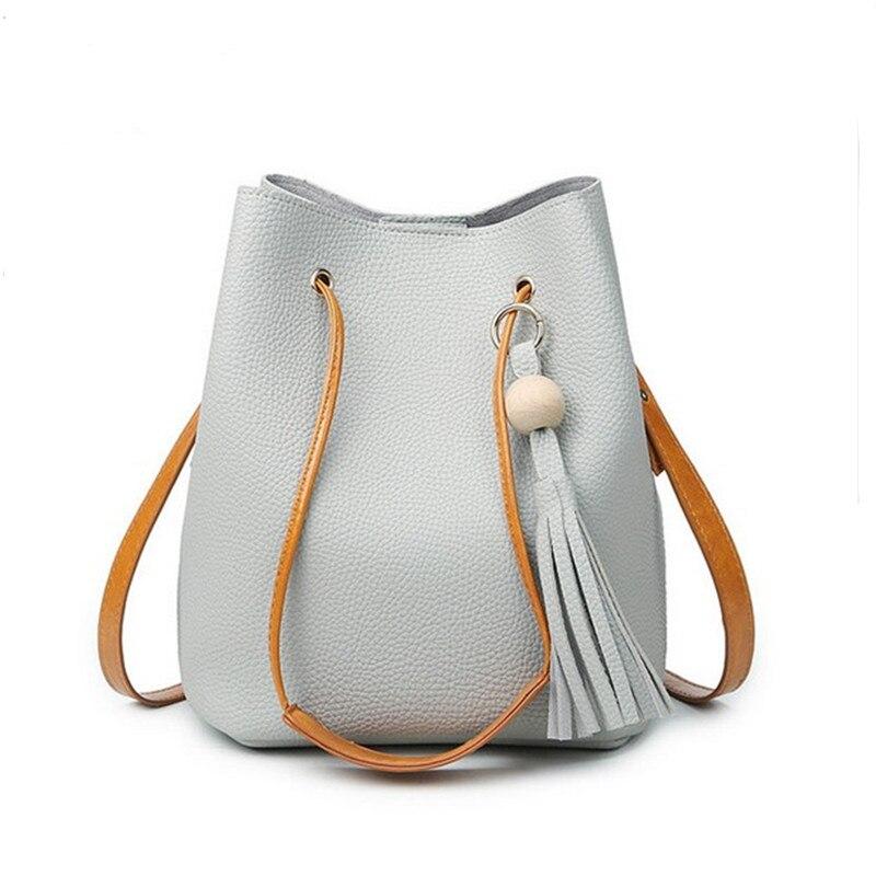 Tassel Handbag for Women Famous Brand Designer Bag Ladies Purse Women Bucket Bag High Quality Korean Messenger Bags Bolsas<br><br>Aliexpress