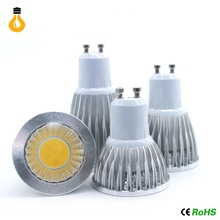 1pcs COB  9W 12W 15W Led Spotlights Lamp 60 Angle GU10 E27 E26 MR16 GU10 Dimmable Led Bulbs Warm/Cool White AC 110-240V/DC12V