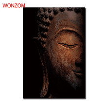 Buddha Canvas Painting Joss Poster Vintage Zen Wall Christmas Canvas Pictures For Home Decor Meditation Wall Art Quadro Unframed