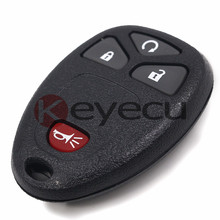 3PCS/LOT New Keyless Entry Remote Car Key Fob for Cadillac Escalade 2007 - 2009 FCC: OUC60270