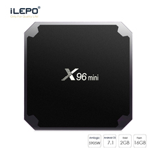 Buy iLEPO X96 mini Android 7.1.2 Smart TV Box Amlogic S905W Quad Core ARM 2GB 16GB 4K HD WiFi 2.4GHz 100M LAN Set-top Player Box for $42.33 in AliExpress store