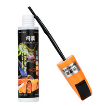 New Professional Car Painting Pens Black 1PC 12ml Auto Car Coat Paint Pen Touch Up Scratch Clear Repair Remover Remove Pen Tool(China)