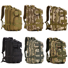 30L Multifunction Camo Molle Extend Assault Backpack Men Women Outdoor Tactical Backpack Hiking Camping Military Army Bag S410(China)