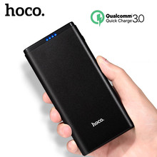 Buy HOCO 10000mAh Power Bank Quick Charge 3.0 Dual USB External Battery Portable Charger Fast iphone 7 8 Xiaomi Huawei Powerbank for $25.46 in AliExpress store