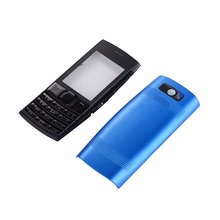 Complete Mobile Phone Housing Cover Case+Keypad For Nokia X2 X2-02 Battery Cover Housing Case