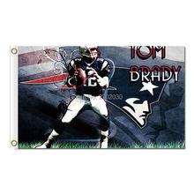 Tom Brady 12 Jerseys Design New England Patriots Flag Football Banners 3ft X 5ft Banner Super Bowl Champions Flag Tom Brady(China)