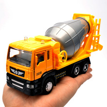 16-18Cm Alloy Car Series -W/light and Sound/ Tow Truck/Trailer/Garbage Car/Construction Vehicles/Fire Truck/Transport Vehicles(China)