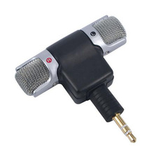 Perfect Gift Electret Condenser Mini Microphone Stereo Voice MIC 3.5mm for PC for Universal Computer Laptop