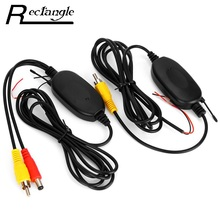 2.4Ghz Wireless Car RCA Video Transmitter Receiver Kit for Rear View Camera Car DVD Player Monitor Color Video Transmitter(China)