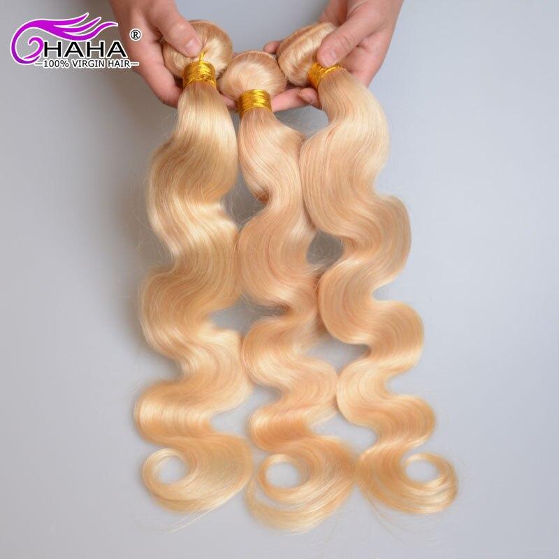 613# blonde hair 3bundles platinum virgin blonde hair russian body wave full end 100% unprocessed russian blonde human hair weft<br><br>Aliexpress