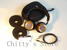 DIY 53mm T1 headphone pure copper headset brass 590g