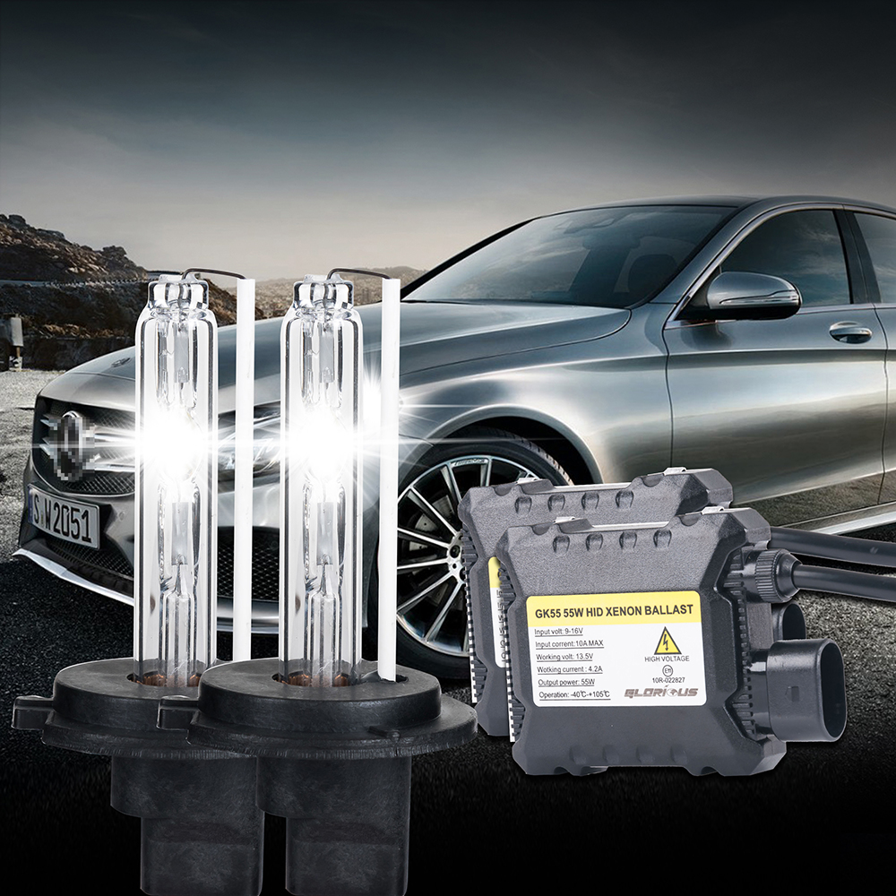 12V 55w ballasts single beam Auto headlight H1 H3 H7 H11 4300k 6000k 8000k,10000k,12000k,30000k,h7 55w<br><br>Aliexpress
