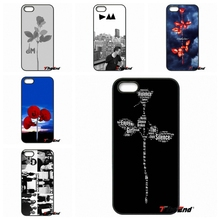 Depeche Mode Violator DM Art Poster Hard Phone Case For iPhone 4 4S 5 5C SE 6 6S 7 Plus Galaxy J5 J3 A5 A3 2016 S5 S7 S6 Edge