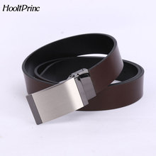 Buy HooltPrinc 2018 Fashion Designer Genuine Leather Luxury Reversible Belts High Belt Men Smooth Plate Buckle Belts Men for $10.22 in AliExpress store