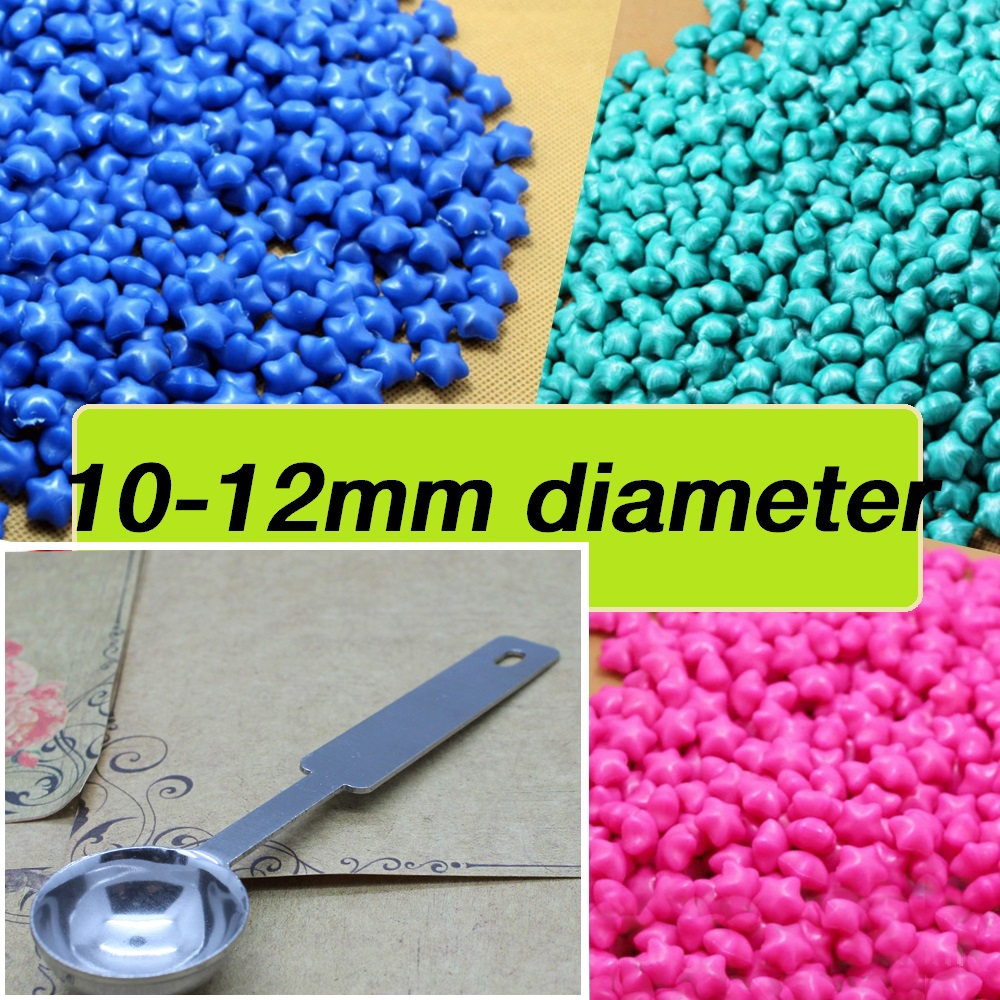 100pcs wax Mix color + 1pcs steel spoon sealing wax tablet pill beads granule/grain/strip sticks Wax seal ancient sealing wax<br><br>Aliexpress