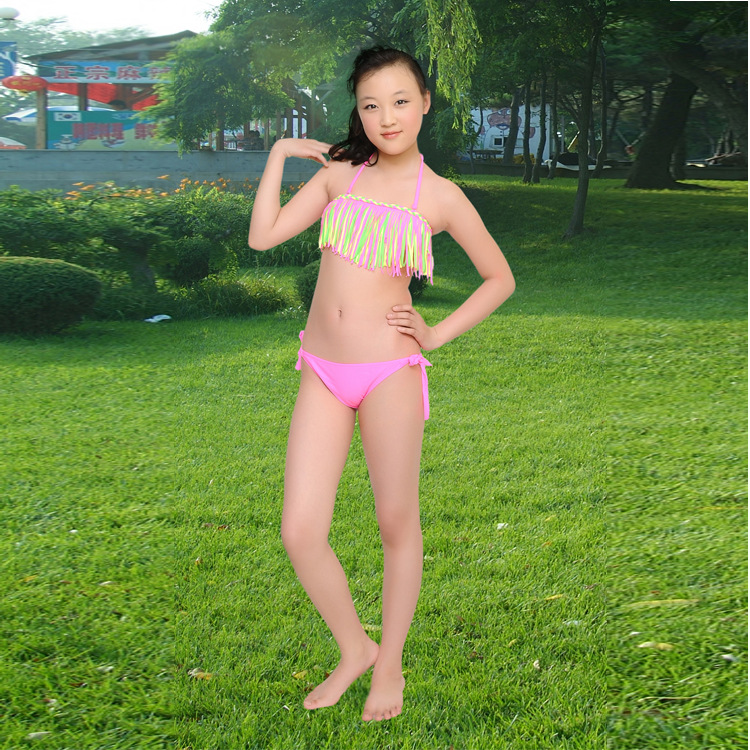 Childrens swimsuit girls stream comb bikini swimwear little girls swim swimsuits for children girls swimming clothes<br><br>Aliexpress