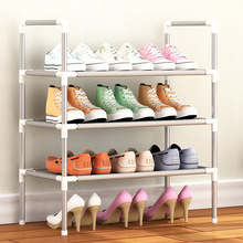 Shoe Rack Nonwovens Multiple layers Shoes Easy Assembled Shelf Storage Organizer Stand Holder Keep Room Neat Door Space Saving(China)