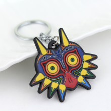 Buy Legend Zelda Game Majoras Mask Colorful Owl Animal Triangle Pendant Charm Keychain Jewelry Christmas Gifts Women Men for $1.11 in AliExpress store