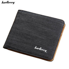Man Canvas Mens Wallets Top Quality Wallet Card Holder Multi Pockets Credit Cards Purse For Male Simple Design Brand Purses(China)