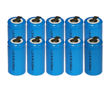 10PCS UNITEK Sub C sc 1.2V rechargeable battery 2000mah ni-mh nimh cell with tab for power tools,vacuum cleaner